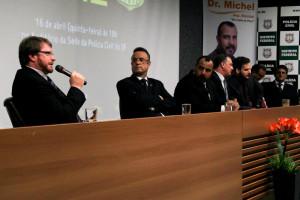 Gaúcho ressaltou necessidade de resgate do Fundo Constitucional para a Segurança Pública (Otto Peyerl/Sinpol-DF)