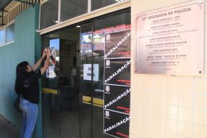 """Paralisação é a primeira fase da """"Operação Vida"""", deliberada pelos policiais no dia 21 de maio, em assembleia (Fotos: Paulo Cabral/Sinpol-DF)"""