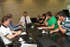 Também foram discutidos os pontos abordados em reunião com o diretor geral da PCDF na semana passada