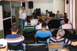 Reunião aconteceu do auditório do sindicato, em sua sede da Asa Norte (Fotos: Paulo Cabral/Sinpol-DF)