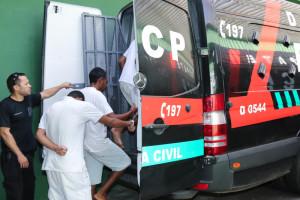 26.02.16 - Agentes Policiais de Custodia fazendo transferência de presos - Paulo Cabral (8)