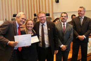 Peritos papiloscopistas aposentados receberam uma homenagem especial