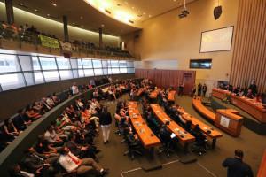 A audiência pública será realizada às 10h no Plenário da CLDF (Foto: Paulo Cabral/Sinpol-DF)