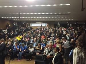 Servidores foram conclamados a pressionar deputados de cada estado