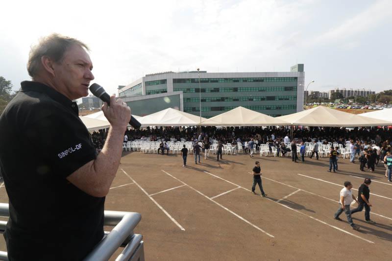 Paulo Sousa, secretário geral do Sinpol-DF